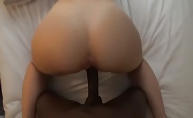 White college babe made for interracial fucking