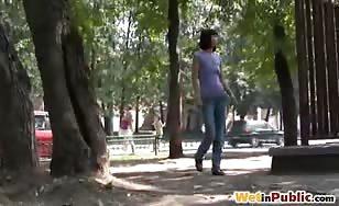 Walking in public