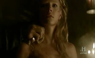 Hot scene from Vikings
