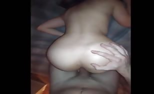 Petite girl fucked hard from behind